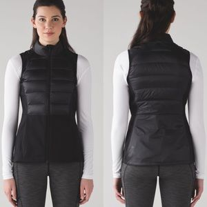 Lululemon | 4 Huddle Vest Black Goose Down